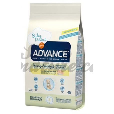 ADVANCE CHAT YOUNG STERILIZED SAC 1,5 KG