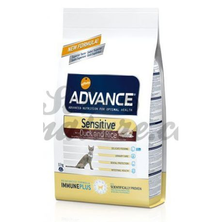 ADVANCE CHAT SENSITIVE SAC 1,5KG