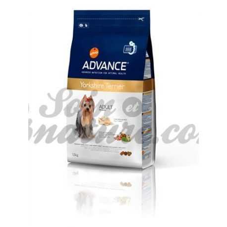 ADVANCE DOG CHIEN YORKSHIRE TERRIER sac 1,5kg
