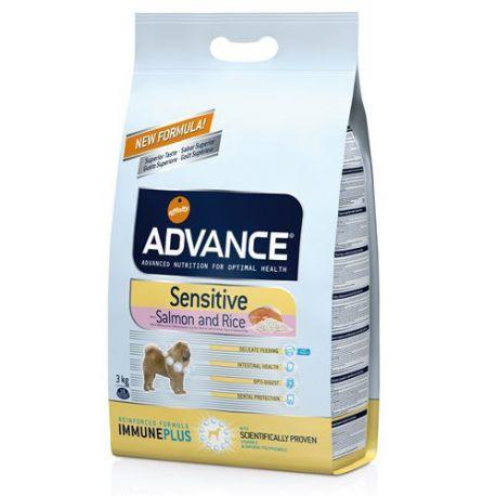 ADVANCE SENSIBILE cane del sacchetto 3 KG
