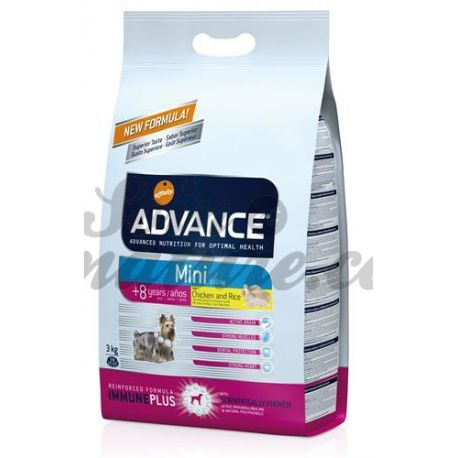 ADVANCE SENIOR DOG MINI SACO 3 KG