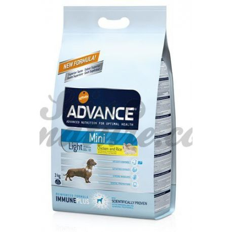 ADVANCE CÃO MINI LUZ BAG 3 KG