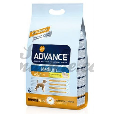 ADVANCE DOG CHIEN MEDIUM ADULTE sac 3 kg
