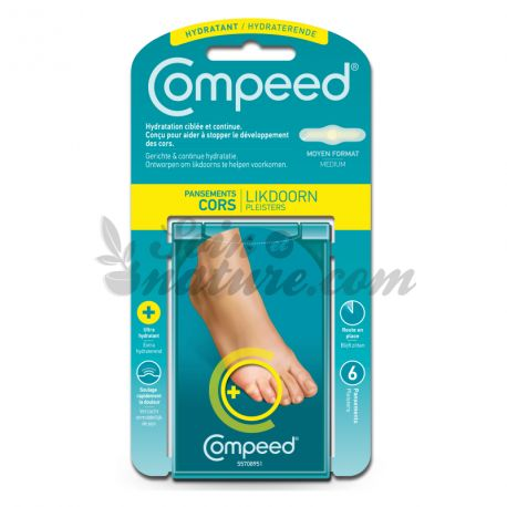 COMPEED DRESSING CORS HYDRATANT 6 BOXES