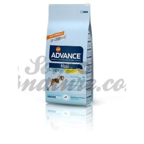 ADVANCE CHIEN MAXI LIGHT SAC 15 KG