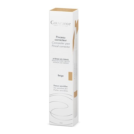 AVENE COVERAGE CONCEALER BRUSH BEIGE