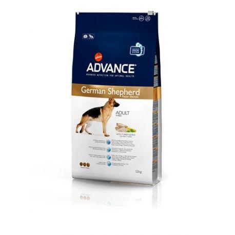 CÃO DE PASTOR ALEMÃO ADVANCE cão pastor alemão 12 kg saco