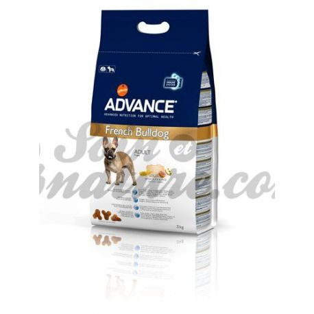 ADVANCE CHIEN BOULEDOGUE FRANCAIS SAC 3 KG