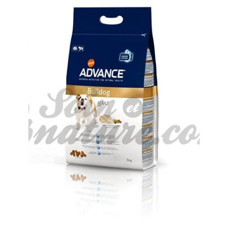 ADVANCE cão do buldogue BAG 3 KG