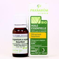 Huile essentielle BIO Géranium Bourbon PRANAROM 10 ml