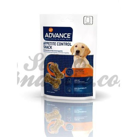 Controle do apetite ADVANCE CÃO SNACK 150G BAG