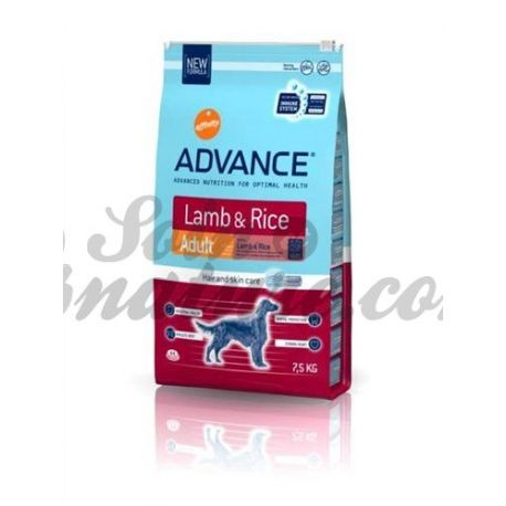 ADVANCE DOG LAMB sack reis 3 KG