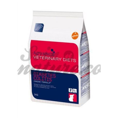 ADVANCE VETERINARY DIETS CHIEN DIABETES COLITIS SAC 3 KG