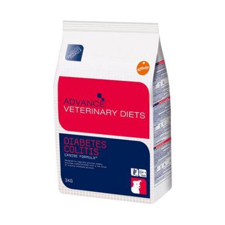 ADVANCE Veterinary Diets DIABETE DOG DOG 3 kg sacchetto COLITE