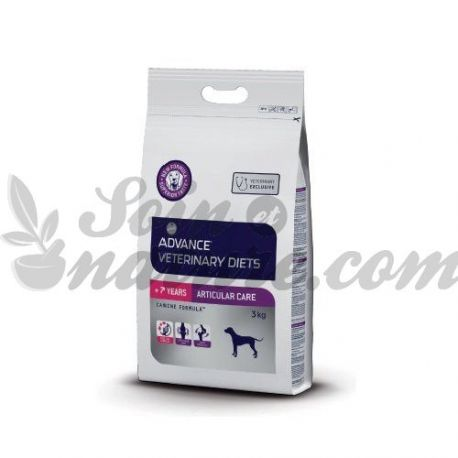 ADVANCE VETERINARY DIETS CHIEN ARTICULAR CARE + 7ANS SAC 3 KG