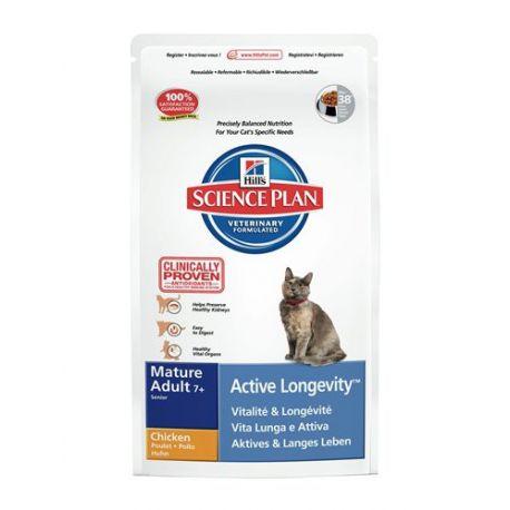 Hills Feline MATURE (+ 7 Jahre) ACTIVE CHICKEN 2 kg Beutel
