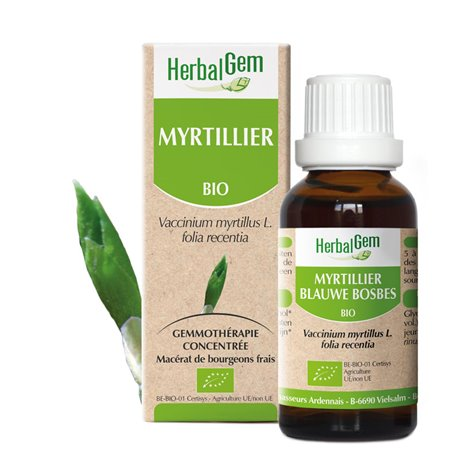Mirtillo germoglio macerato glicerico BIO 30ml HERBALGEM