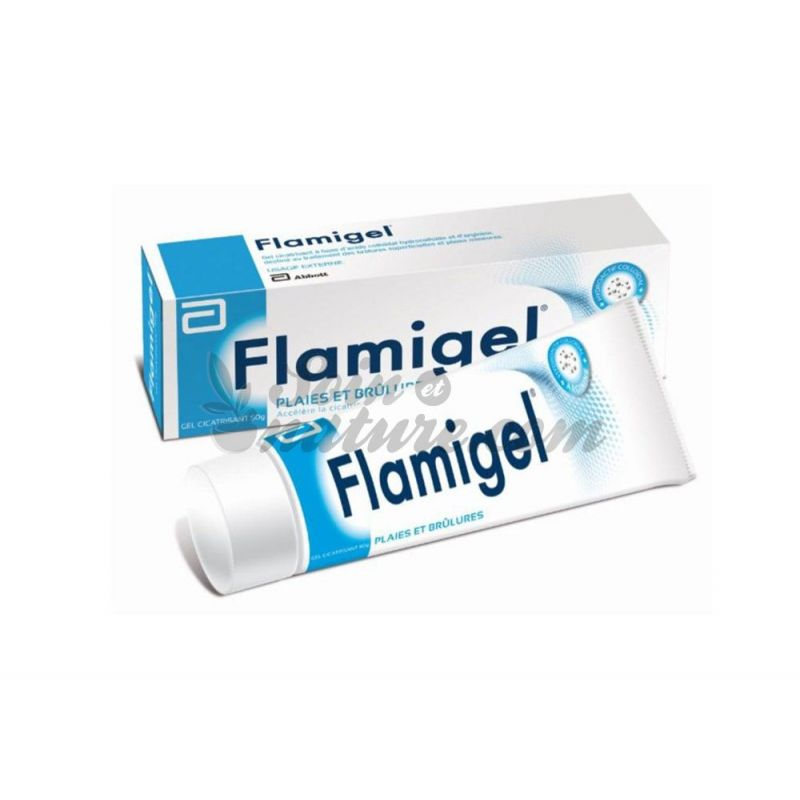 Flamigel wounds and burns