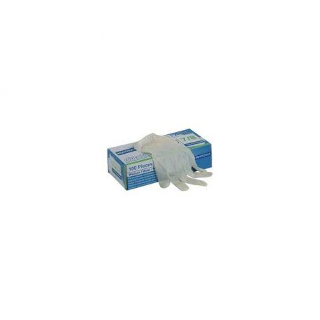 Luvas de látex ambidestro SM ou L Box of 100