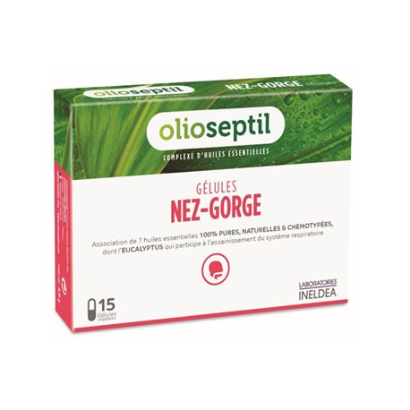 OLIOSEPTIL NEZ-GORGE BOÎTE DE 15 GELULES