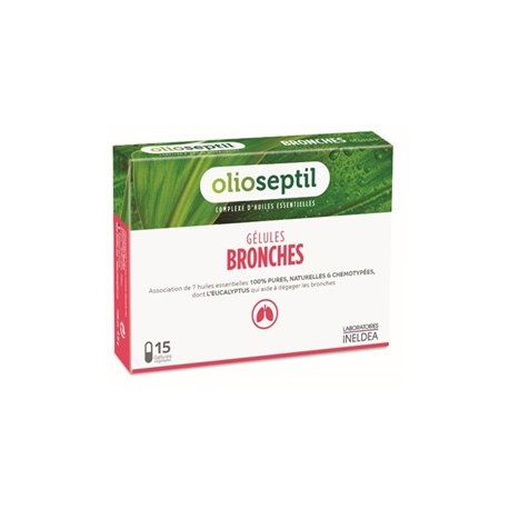 OLIOSEPTIL BRONCHI 15 CAPSULES
