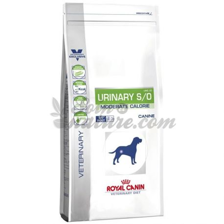 ROYAL CANIN CHIEN URINARY S/O MODERATE CALORIE 1,5 KG