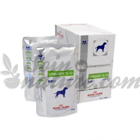 ROYAL CANIN URINARY S/O CANINE 10 SACHETS DE 150 G