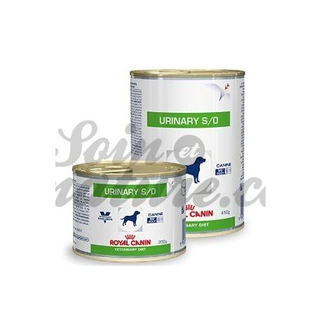 ROYAL CANIN URINARY S/O CANINE 12 BOITES DE 410G