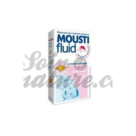 MOUSTIFLUID PATCH ANTI-MOUSTIQUES BEBE