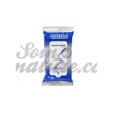 Saugella dermoliquide Intimate Wipes x 15