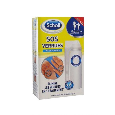 SCHOLL SOS verrugas pés e as mãos 80ml