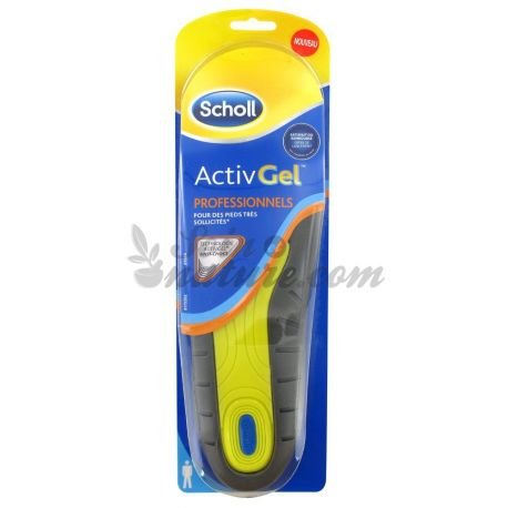 SCHOLL BOTTOMS ACTIVGEL PROFESSIONAL WOMEN X 2