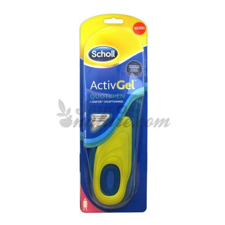 SCHOLL DONNA DAILY ACTIVGEL SOLES X 2