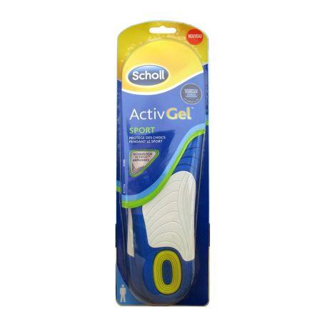 SCHOLL ACTIVGEL Homme Sport SOLES X 2