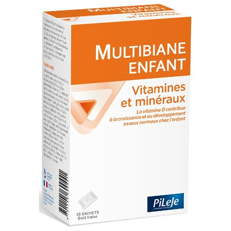 PILEJE BIANE-CHILD VITAMINS MINERALS 20 sticks