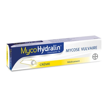MYCOHYDRALIN 1% crème mycose vulvaire