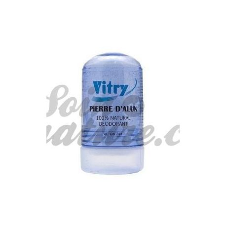 VITRY PIERRE ALUM DESODORANTE 100% NATURAL 120G