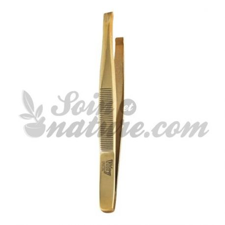 VITRY TWEEZERS MORS RECHTE GOLD