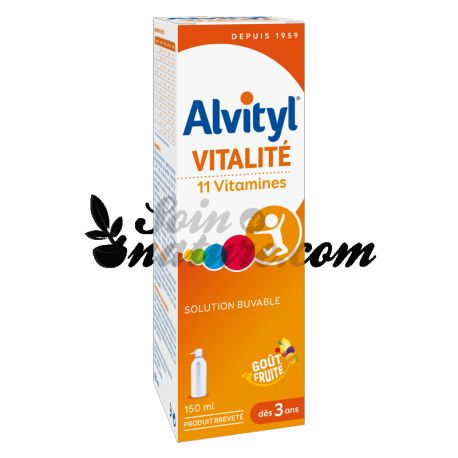 ALVITYL 11 Vitamines Sirop 150ml URGO