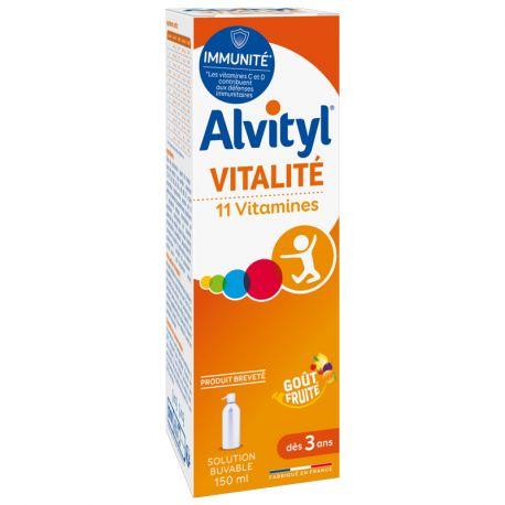 ALVITYL 11 Vitamines Sirop 150ml URGO