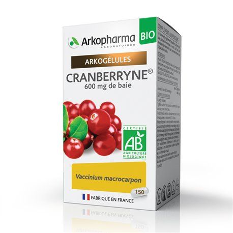ARKOCAPS CRANBERRYNE 150 CAPSULES Arkopharma