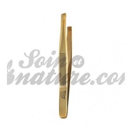 VITRY TWEEZERS PROFESSIONAL MORS THROUGH GOLD