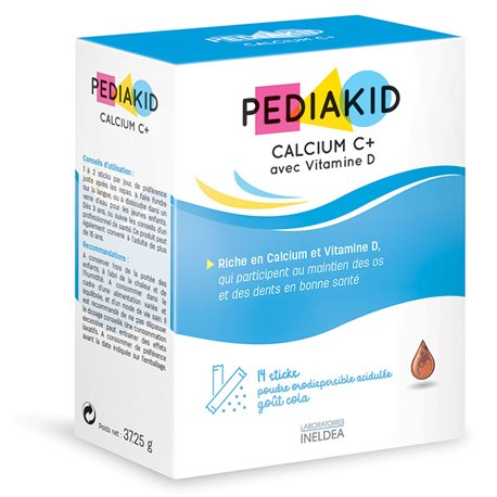 PEDIAKID CALCIUM C + 14 STICKS