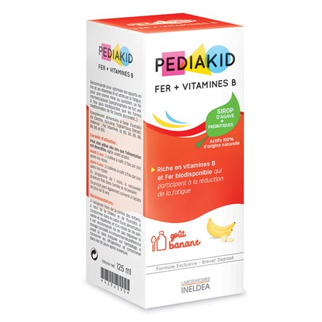 PEDIAKID FER + VITAMINE B 125ML