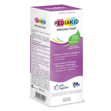 MIRTILLO SCIROPPO PEDIAKID IMMUNO FORTE 250ML