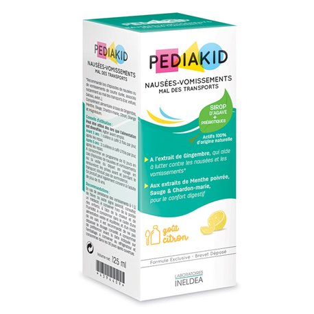 PEDIAKID SICKNESS SYRUP 125ML