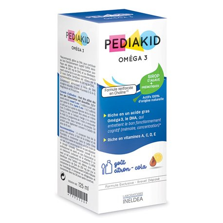 PEDIAKID OMEGA 3 JARABE 125ML