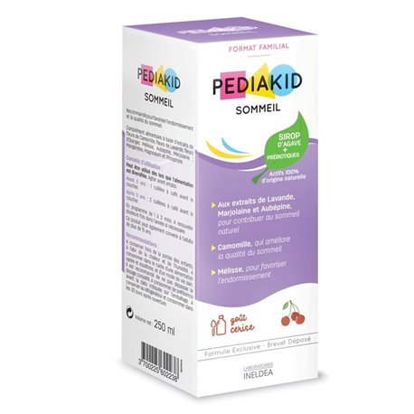 PEDIAKID SLEEP SYRUP CHERRY 250ML
