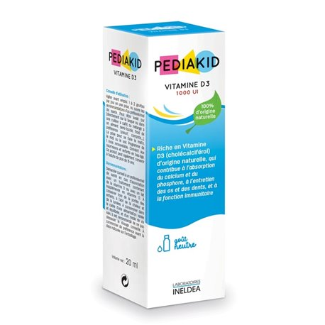 PEDIAKID VITAMIN D3 20ML