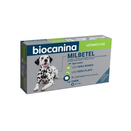 MILBETEL DOG vermifugo 2 COMPRESSE
